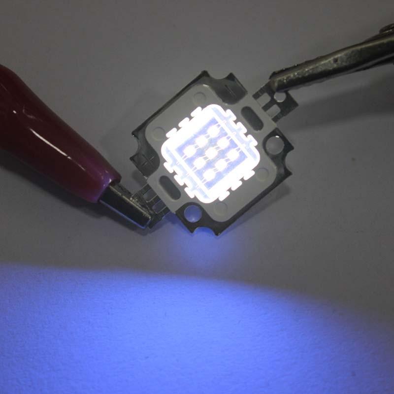 Купить с кэшбэком UV Pure Led Chips High Power 390-395nm Haute Puissance COBUltraviolet High-quality Light 1W 3W 10W 20W 30W 50W 100W