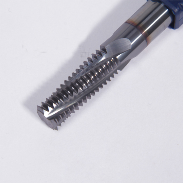 M4*0.7*8*57*4F 4Flute metal end mill thread milling tools thread milling cutter carbide cutting tools cheaper cnc milling tools