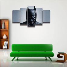 5 Panel Batman Painting