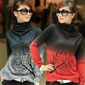 Turtleneck bayan Sweater 2017 Cashmere Sweater Women Female Pullover Winter knitted wear Jumper warm blusas de inverno SW615