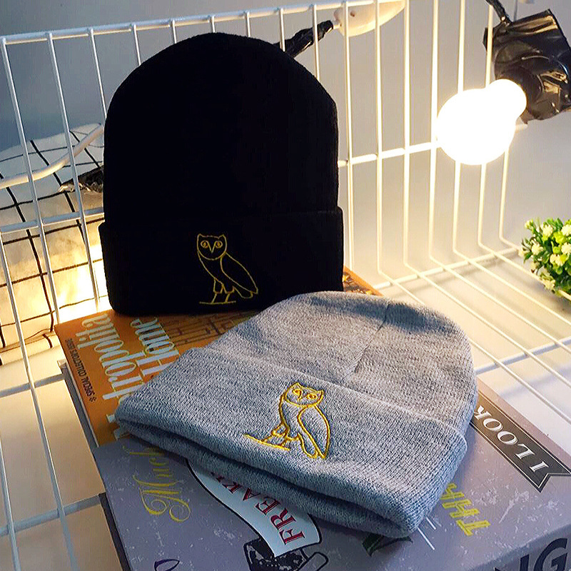Casual Winter Warm Elastic Beanies Hats s
