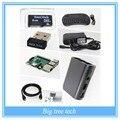 New arrivel Raspberry Pi 3 XBMC KODI OSMC Media Center Wifi Keyboard Remote HTPC with free shipping