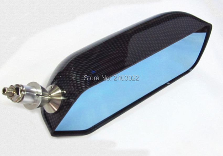 GP F1 Type Side Mirror Wing Mirror Convex Glass carbon look Universal LH RH in Mirror Covers from Automobiles Motorcycles