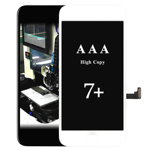 все цены на 2pcs Original No Dead Pixel For iPhone 7 LCD Display With Touch Screen Digitizer Assembly Black&White +2pcs USB онлайн