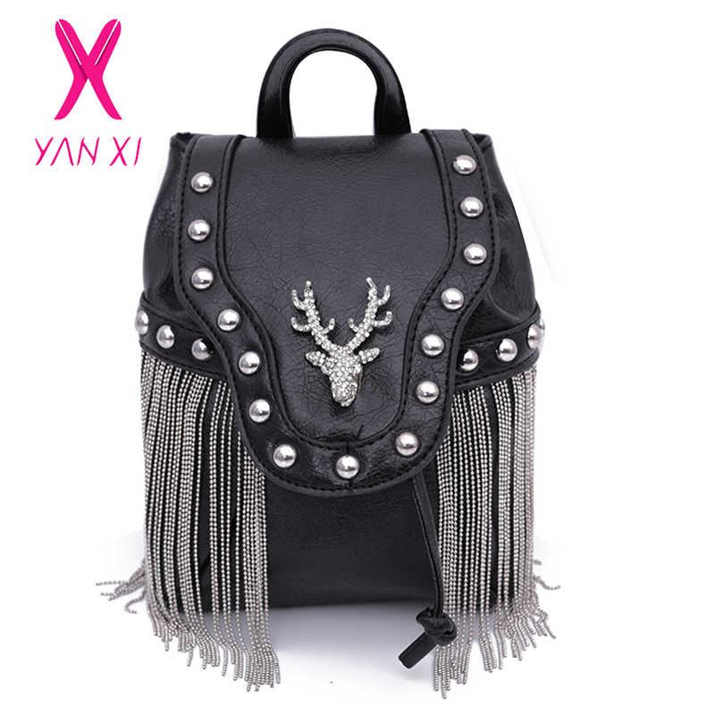 1c9bd2e94a73 Fashion Gothic Rock Leather Vintage Retro Steampunk Handbag Shoulder Bag  Coin Purse Holder Women Messenger Bag