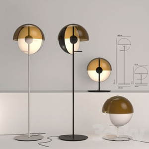 Image 3 - LED חדר קומת מנורות סלון עומד תאורת נורדי הפוסטמודרנית רצפת אורות בית דקו גופי