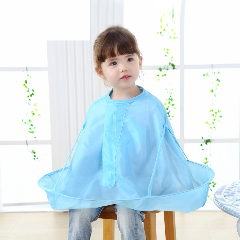 baby safety hair cut cloth Practical Children Kids Baby Hair Cutting Cape Gown Salon Hairdresser Barber Apron