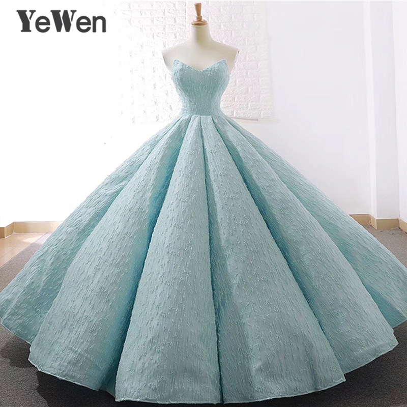 V neck blue Lace Tulle   Evening     Dresses   2018 Long Plus Size Wedding Party   Dress   Ball Gown Formal   Dress   Elegant Prom Gown