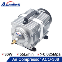 Aubalasti Air Compressor Air Pump 30W ACO 308 Electrical Magnetic Air Pump for CO2 Laser Engraving Cutting Machine