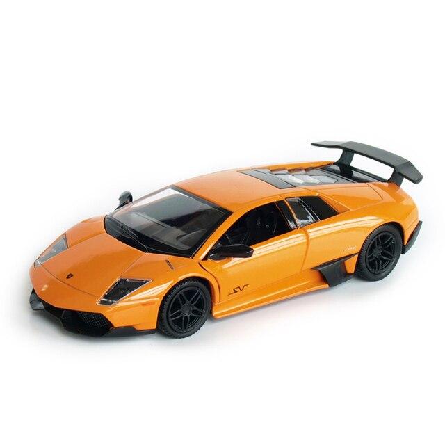 rmz city 136 alloy pull back lambo bat sports car model simulation childrens toy