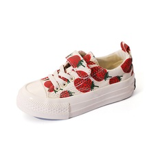 Buy Kids Canvas Shoes for Girls Boys 2019 Little Girls Sneakers Cartoon Fruit Casual Shoes Tenis infantil Trainer Shoes for Kids directly from merchant!