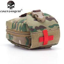 Emerson gear, военные сумочки, аптечка, медицинский мешочек, сумка, Molle, военный страйкбол, пейнбол, боевое снаряжение EM6368