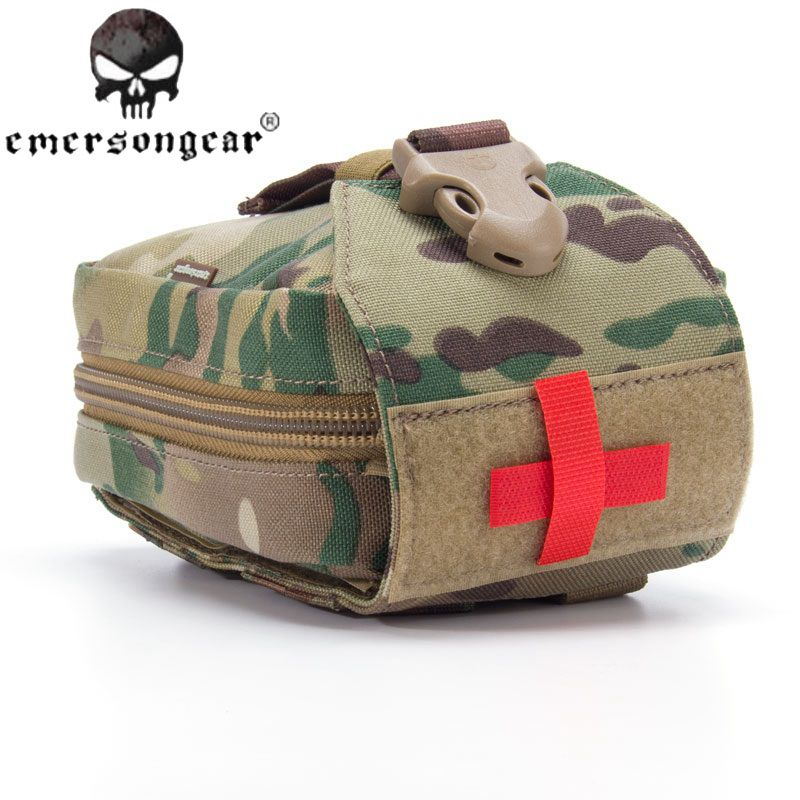 Emersongear Military Handbags First Aid Kit Medic Pouch Medic Bag Molle Military Airsoft Painball Combat Gear EM6368 rubineta medic p 14
