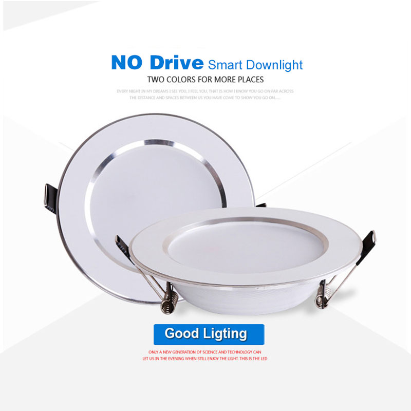 Image 3 - 4PCS Dimmable Waterproof LED Down lights 5W 7W 9W 12W 15W LED Downlight  Outdoor Leds Ceiling Lamp For Bathroom Bulb-in Downlights from Lights & Lighting
