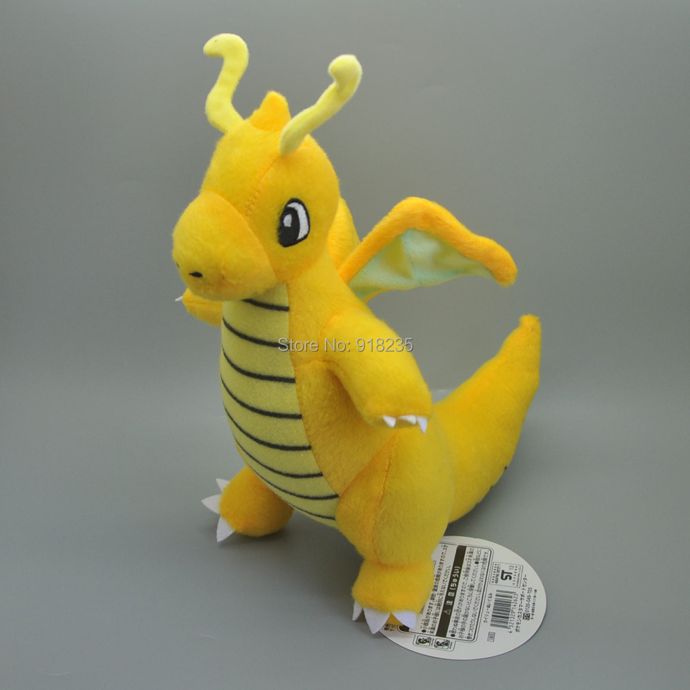 10 Lot Dragonite 9 S Plush Doll Soft Anime Cartoon For Kids Gifts Stuffed Toys