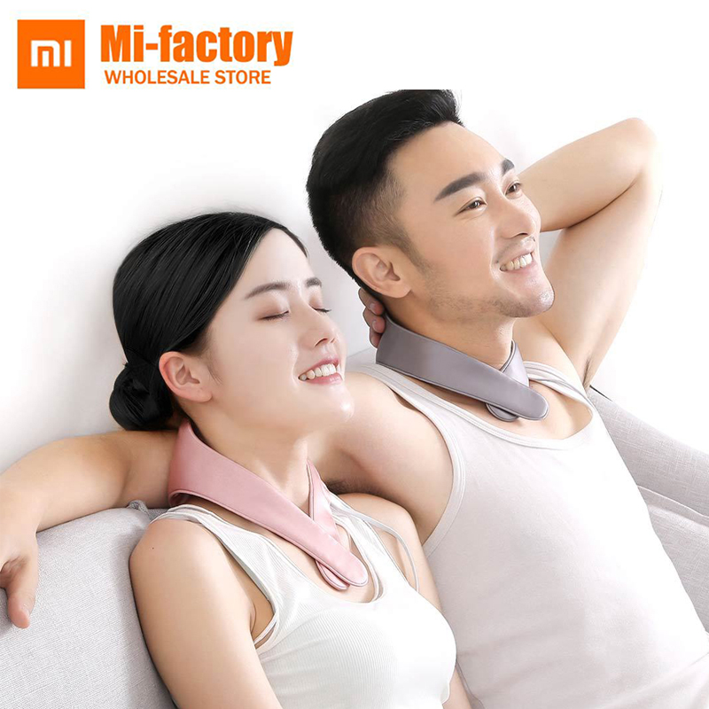 все цены на New Xiaomi PMA graphene fever protection neck belt relieves muscle tension and soreness and improves fatigue mini fever massager онлайн