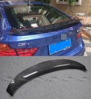 F34 3 серии углеродное волокно накладка на багажник автомобиля крыло для BMW F34 3 серии GT 2013 до стайлинга автомобилей аксессуары