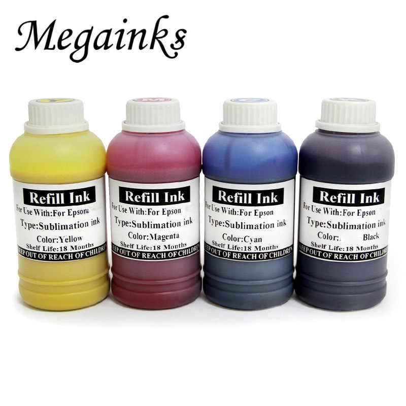 500 ML 잉크 T7411 T7412 T7413 T7414 BK C M Y 엡손 Surecolor F6000 F7000 F6070 F7070 F7200 F7100 F9200 프린터 승화 잉크