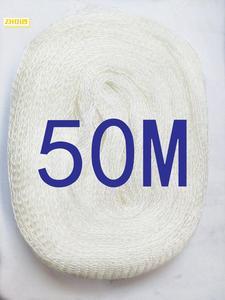 Image 1 - 50M PVA Mesh Dolum Sazan Balıkçılık Çorap Boilie Rig Yem Wrap Çanta
