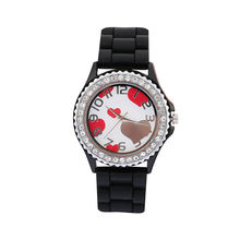 ТАДА Моды для Женщин, Вахта сердце Горячая Вскользь Кварцевые Часы Дамы Наручные Часы Relogio Feminino Montre Femme