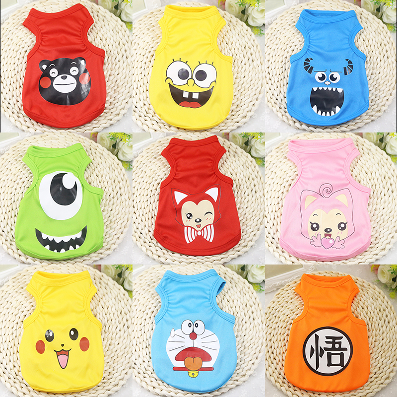 Cheap Cute Dog Clothes for Small Dogs Summer Dog Clothing ...