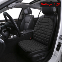 Universal 2 Pcs Heated Car Seat Cushion DC 12 V Fast Electric Heating Car Seat Cushion