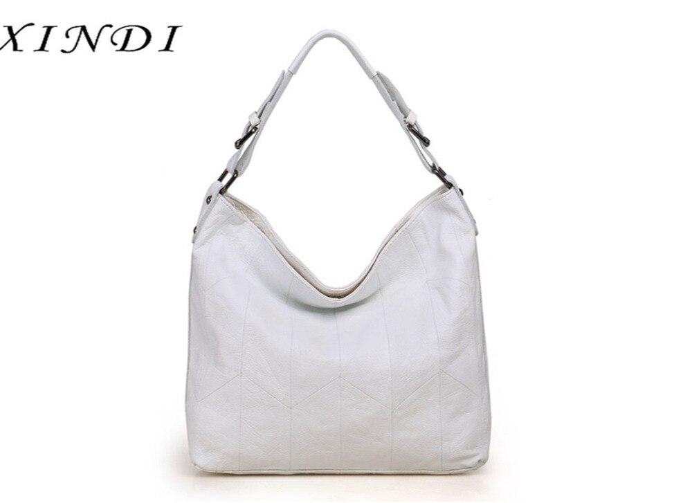 Здесь продается  XINDI woman handbags genuine leather bag female hobos shoulder crossbody bags high quality leather totes women messenger bag  Камера и Сумки