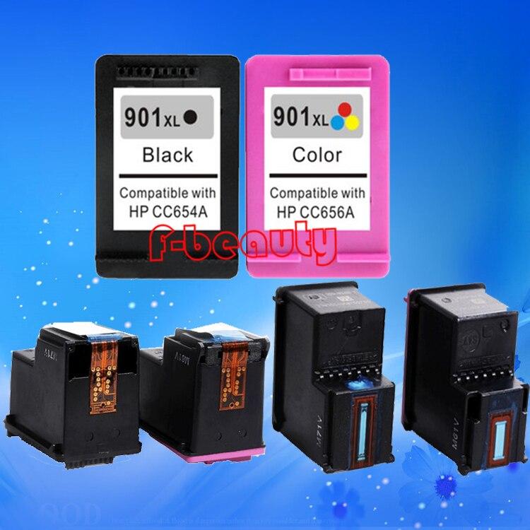 Cartucho de tinta 901XL de alta calidad compatible para HP 4500 J4580 - Electrónica de oficina