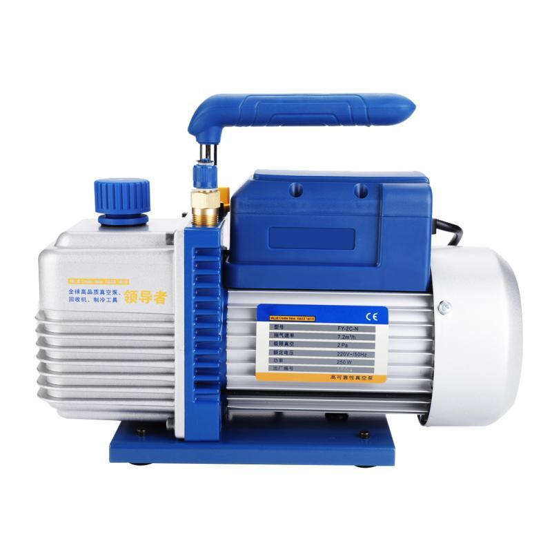 FY-2C-N 220V 250W Portable Mini Air Vacuum Pump for Air Conditioning / Refrigerator Tool