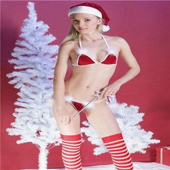 Sexy santa thong