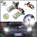 2 unids Canbus Del Error Gratis 6000 K del Poder Más Elevado 105 W CRE'E XP-E H7 Bombillas LED Para Audi BMW Mercedes Luces de Circulación Diurna, Faros Antiniebla, etc