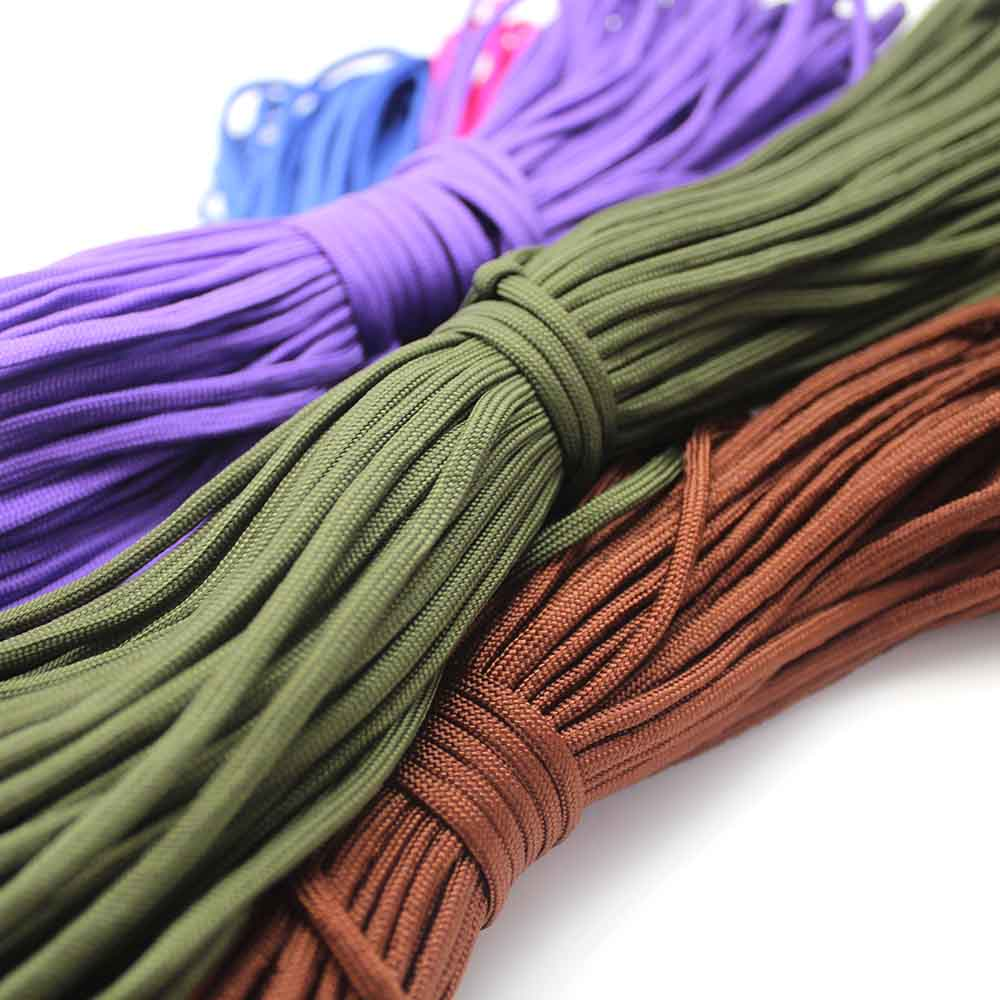 5pcs lot 550 Paracord 108 colors Parachute Cord Lanyard Rope Mil Spec Type III 7Strand 100FT