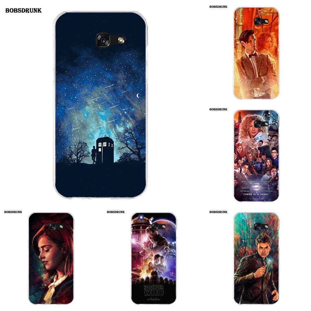 Unique Doctor Who Tardis Soft Silicone TPU Transparent Print Phone For Samsung Galaxy A3 A5 A7 J1 J2 J3 J5 J7 2015 2016 2017