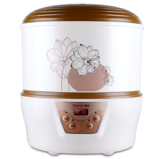 Fullautomatic Large-capacity Bean Sprout Machine Household Multifunctional Bean Sprout Maker Bean Sprout Pot Bud Pot yoga sprout комплект