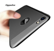 Oppselve Breath Phone Case For iPhone 6 6s 7 Plus X 10 Luxury Ultra Thin Hard PC Capinhas For iPhoneX Back Shell Capinhas Capa