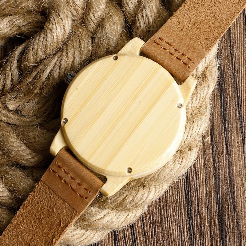 Fashion Light käsitsi valmistatud puidust kellad, mis on valmistatud - Meeste käekellad - Foto 5
