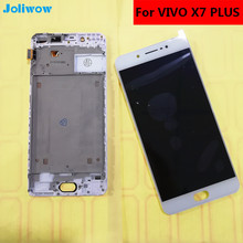 Tested! For VIVO x7 PLUS LCD Display+Touch Screen+frame Digitizer Assembly Replacement Accessories FOR phone 5.7 frsky taranis x9d x9d plus x7 radio replacement switch