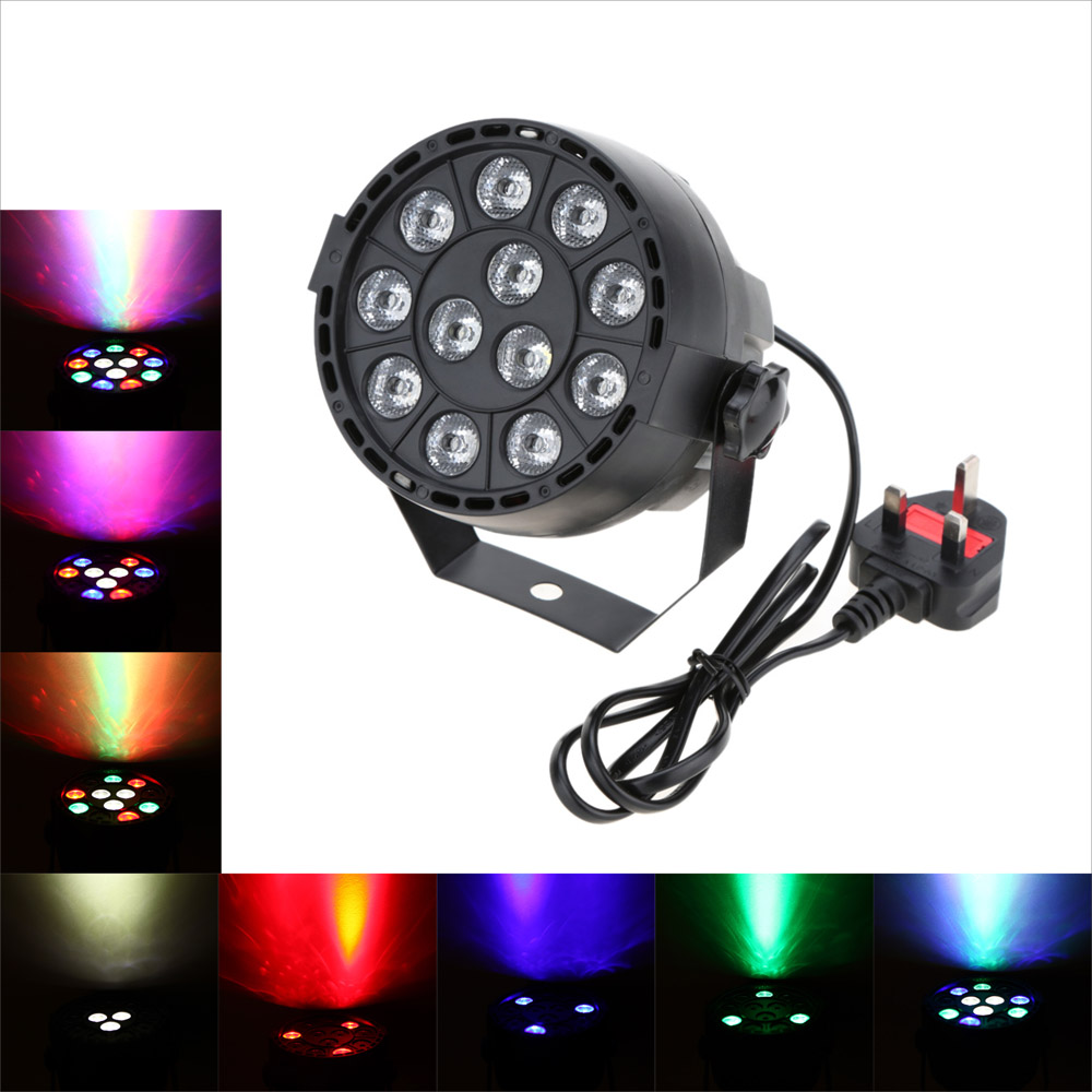 US $14 44 41% OFF Lixada DMX 512 RGBW LED High Power Stage PAR Light  Lighting Strobe 15W AC 90 240V Professional 8 Channel Party Disco Show-in  Stage