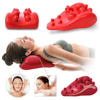 Neck Massager Pillow massage pain relief Care Back Health Neck Shoulder Relieve Dual Trigger Point Self Massage Tool Training