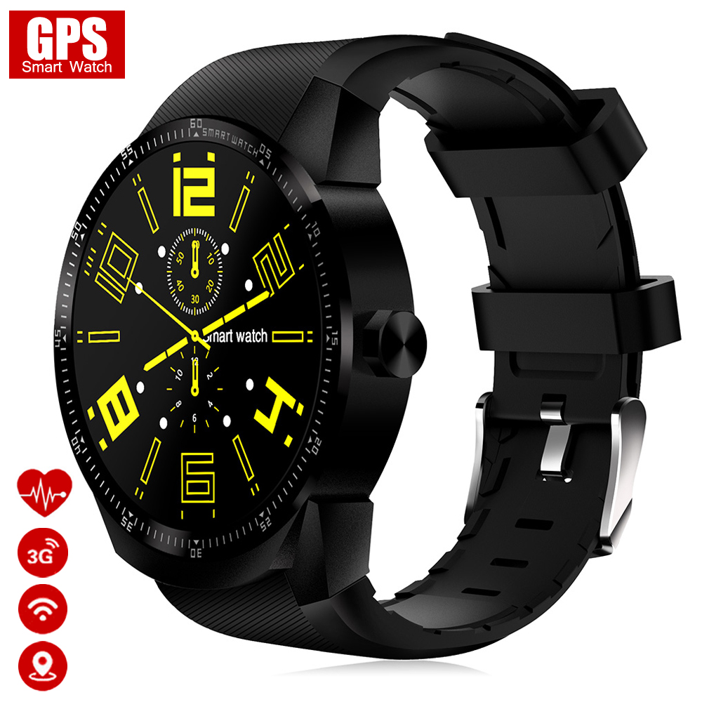 Smart Watch Men 3G GPS Wifi Watches Women with Heart Rate Monitor Fitness Tracker K98H Smartwatch Support SIM for  Android Phone teyo 3g smart watch kw99 bluetooth smartwatch android sports watch phone heart rate tracker sim wifi update from smartwatch kw88