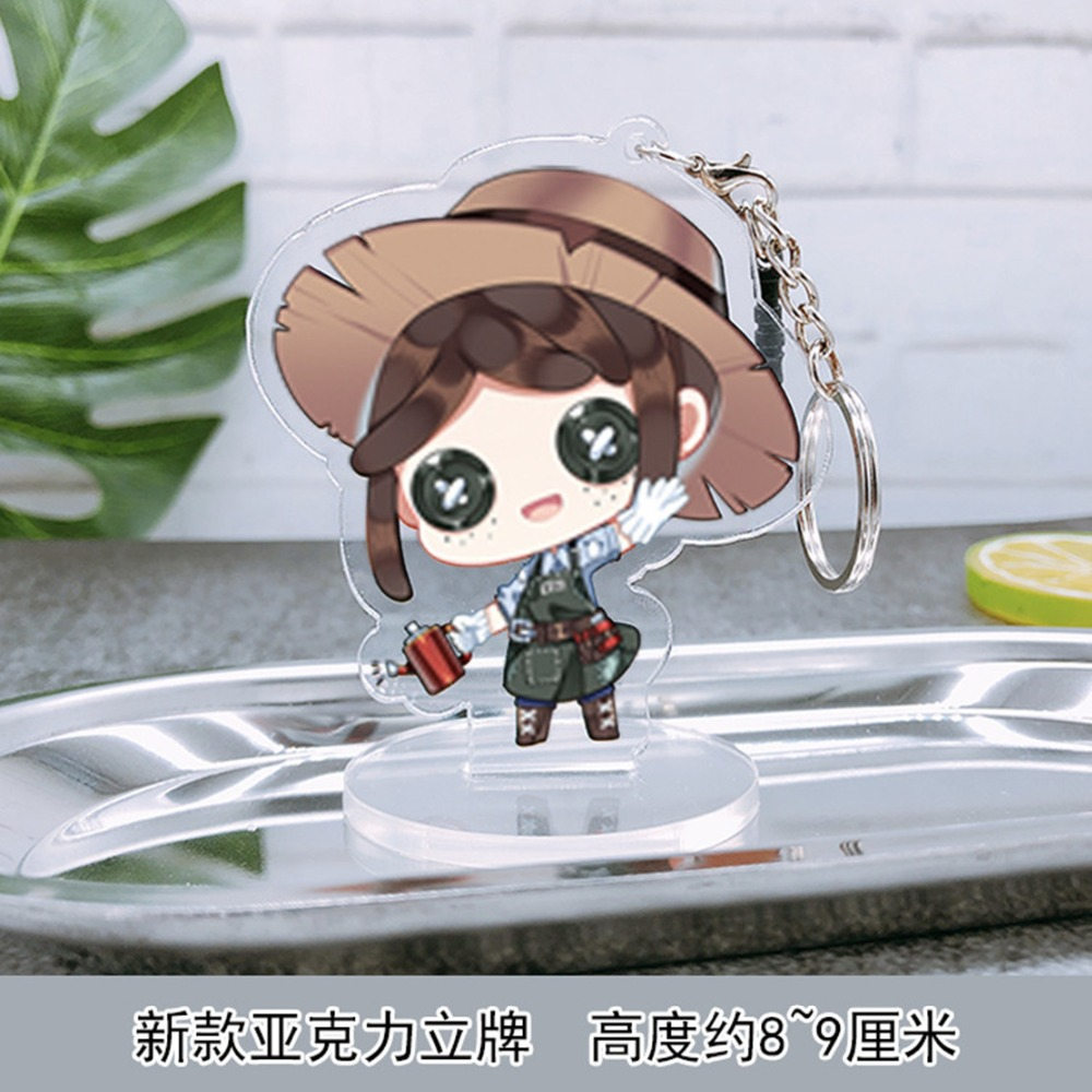 Novelty & Special Use Costumes & Accessories Humor Game Identity V Survivor Mercenary Gardener Lawyer Lucky Guy Coordinator Doctor Anime Cosplay Props Button Glasses Boy Girl Gift
