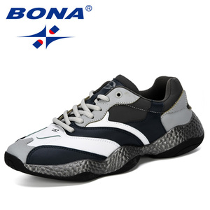 Image 5 - BONA 2019 New Adult Men Sneakers Spring Autumn Breathable Krasovki Shoes Trendy Casual Shoes Male Tenis Masculino Man Footwear