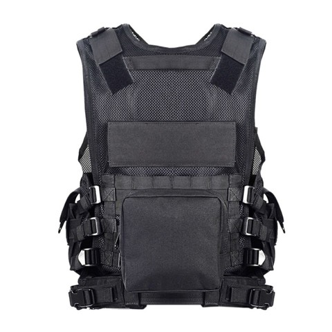 Police Military Tactical Vest Wargame Body Armor Sports Wear Hunting Vest CS Outdoor Products Equipment with 5 Colors Karachi