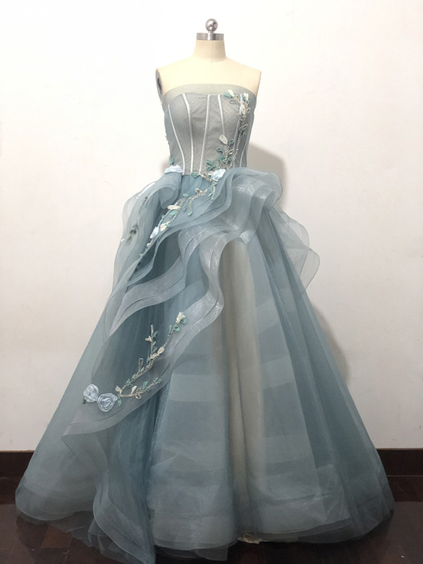 Real Photos Ball Gown Princess Wedding Dress 2019 Crystal Sweetheart Lace up Elegant Bridal Gowns
