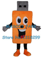 Flash Memory USB mascot costume custom cartoon character cosply adult size carnival costume 3295