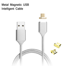 Magnetic Nylon Braided Fast Charging Cable For HTC One V G24 G2 G8 A3333 HTC One M8 Magnetic Quick Charge Android USB Date Cable аккумулятор для телефона craftmann b0p6m100 для htc one mini 2 m5 one m8 mini one remix