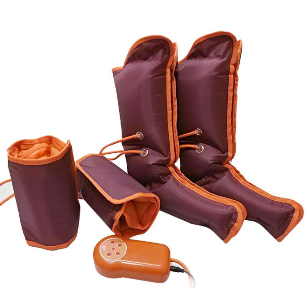 Appareil de massage électrique des jambes à Compression d'air soulagement de la fatigue appareil de massage des pieds Relaxation calme les muscles fatigués