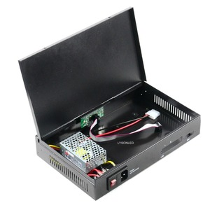Image 2 - فارغة P5 P10 شاشة عرض فيديو ليد مرسل صندوق مع ميانويل امدادات الطاقة المثبتة ، يمكن تثبيت TS802/MSD300 إرسال بطاقة