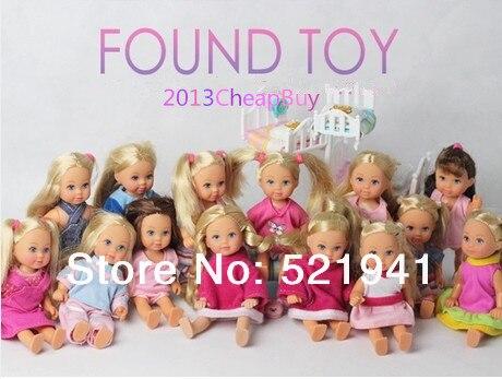 Livraison gratuite, 5pcs / lot 12cm allemand SIMBA Kelly poupée NE PAS choisir style cadeau pour enfants