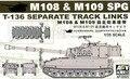 AFV CLUBE AF35S23 M108/obus M109 auto-propulsão por splicing a faixa móvel
